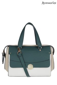 Accessorize Green Montague Handheld Bag