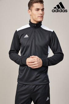adidas Black Regi Track Top