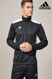 adidas Black Regi Track Top