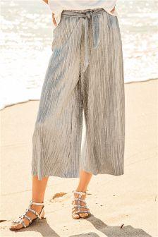 Jersey Foil Culottes