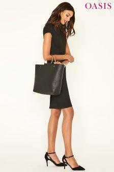 Zdobiona, elegancka sukienka ołówkowa Oasis Camila