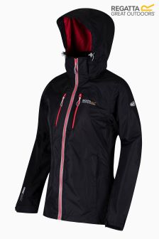 Regatta Black Calderdale Waterproof Jacket