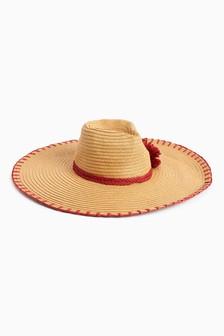 Pom Floppy Hat