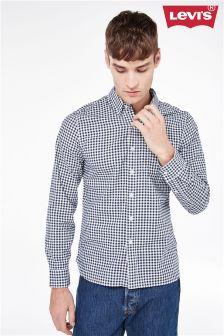 Granatowa koszula w kratę Gingham Levi's®