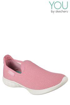 Skechers® You Define Low Profile Knit Slip-On