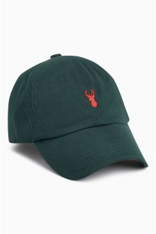 Stag Embroidery Cap