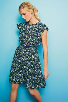 Ruffle Tea Dress