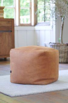 Arezzo Faux Leather Tan Cube