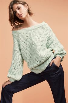 Bardot Cable Sweater
