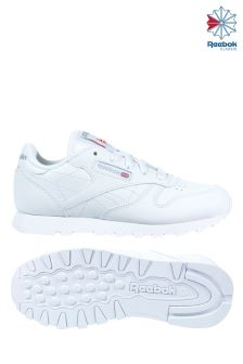 Reebok Classic Leather White Trainer