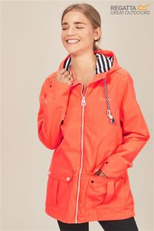Regatta Red Bayeur Ii Waterproof Shell Jacket