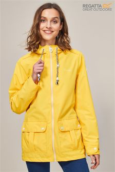 Regatta Yellow Bayeur Ii Waterproof Shell Jacket