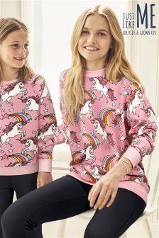 Cotton Unicorn Sweatshirt