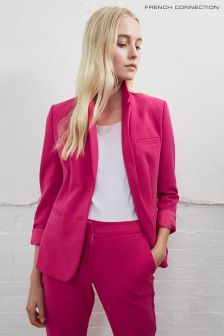 French Connection Magenta Pink Sundae Suiting Blazer