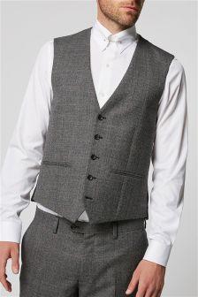 British Wool Check: Waistcoat