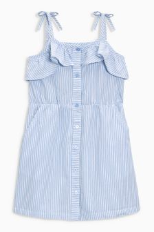 Frill Stripe Sundress (3-16yrs)
