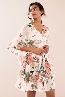 Lightweight Sheer Kimono Robe