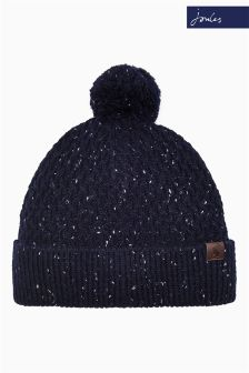 Joules Midnight Knitted Pom Blyth Hat