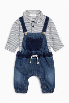 Stripe Shirtbody (0mths-2yrs)