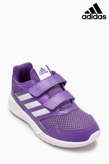 adidas Purple Alta Run Velcro
