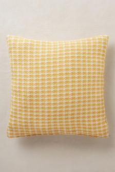 Mini Geo Jacquard Cushion