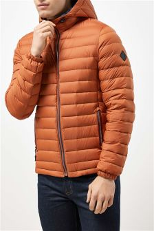 Down Filled Hooded Jacket