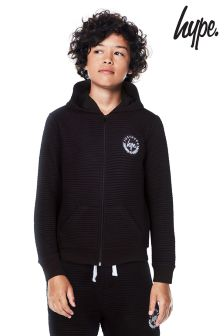 Hype Ribbed Crest Hoody