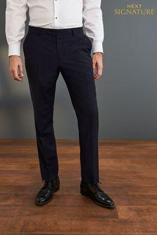 Коллекционный костюм зауженного кроя в клетку: брюки