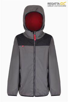 Regatta Dust/Black Leverage Waterproof Shell Jacket