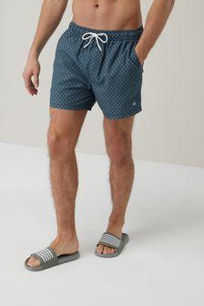 Geo Print Swim Shorts