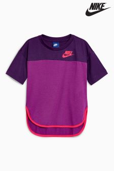 Nike Purple Short Sleeve Tee