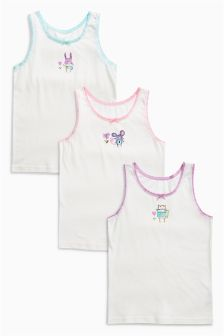 Animal Vests Three Pack (1.5-12yrs)