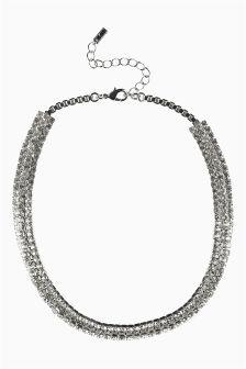 Diamanté Short Necklace