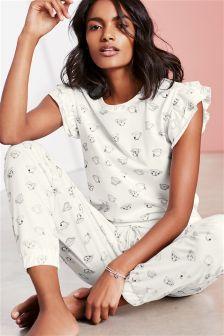 Teacup Ruffle Sleeve Pyjamas