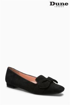 Dune Black Graciano Bow Loafer