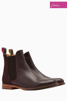 Joules Brown Leather Chelsea Boot