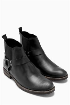 Strap Chelsea Boot