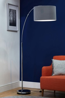 Large Curve Arm Floor Lamp