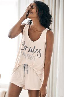 Bridal Short Set