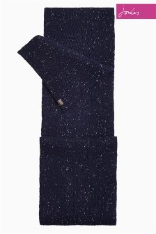 Joules Midnight Knitted Blyth Scarf