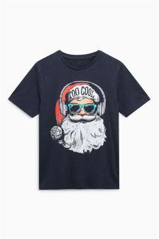 Santa T-Shirt (Mens)