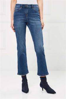 Mini Boot Cut Jeans