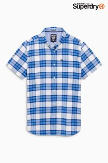 Superdry Blue Check Shirt
