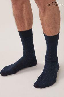 Bamboo Micro Spot Socks Four Pack