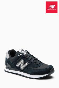 New Balance Black Sparkle 574