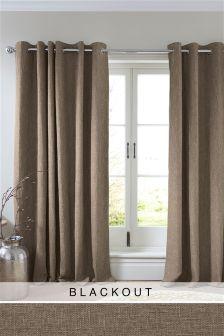 Bouclé Curtains