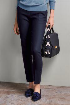 Premium Rib Texture Slim Trousers