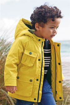 Four Pocket Coated Cotton Jacket (3mths-6yrs)