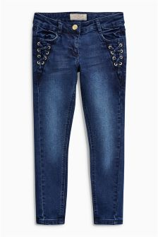 Lace Detail Jeans (3-16yrs)