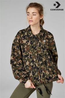 Converse Black Star Camo Coaches Jacket
